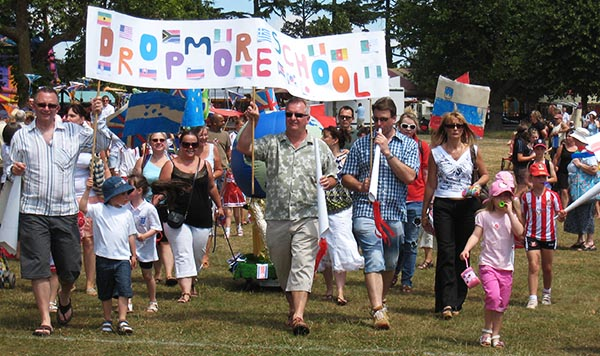 Parade at Burnham Community Association's Carnival